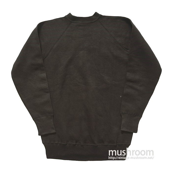 OLD BLACK SWEAT SHIRT( DEADSTOCK )