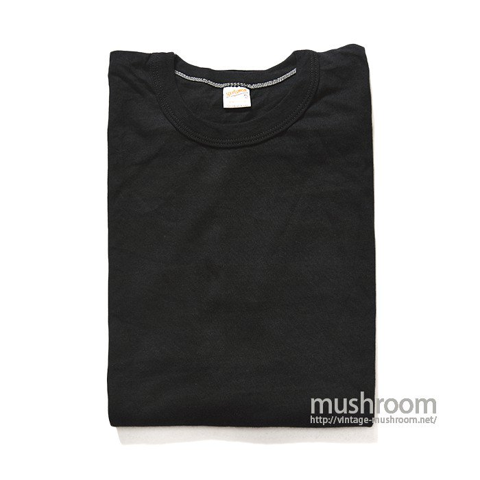 SPORTSWEAR BLACK PLAIN TEE( XL/DEADSTOCK )