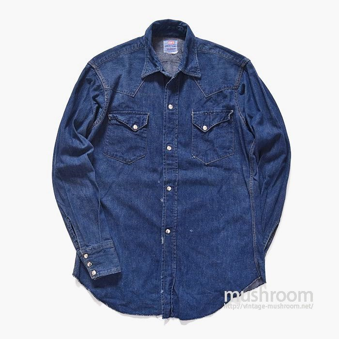 LEVI'S DENIM FAMILY DENIM WESTERN SHIRT
