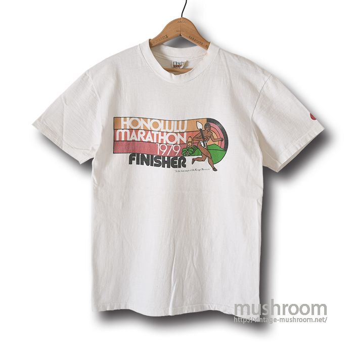 NIKE HONOLULU MARATHON 1979 T-SHIRT