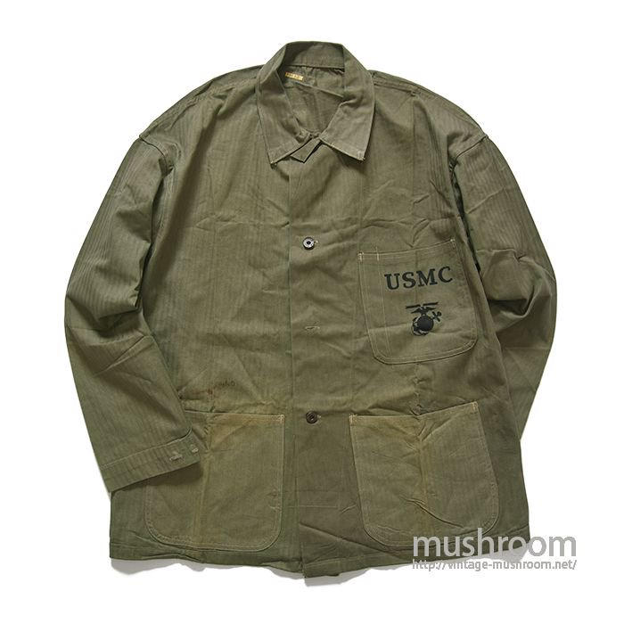 USMC P-41 TWO-TONE HBT UTILITY JACKET(44/DEADSTOCK)
