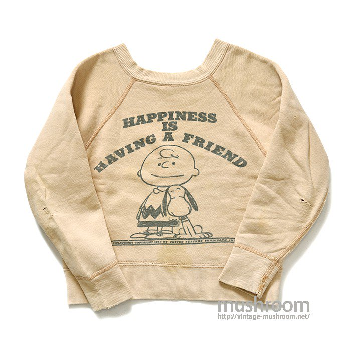 SPRUCE SNOOPY SWEAT SHIRT( KID'S )
