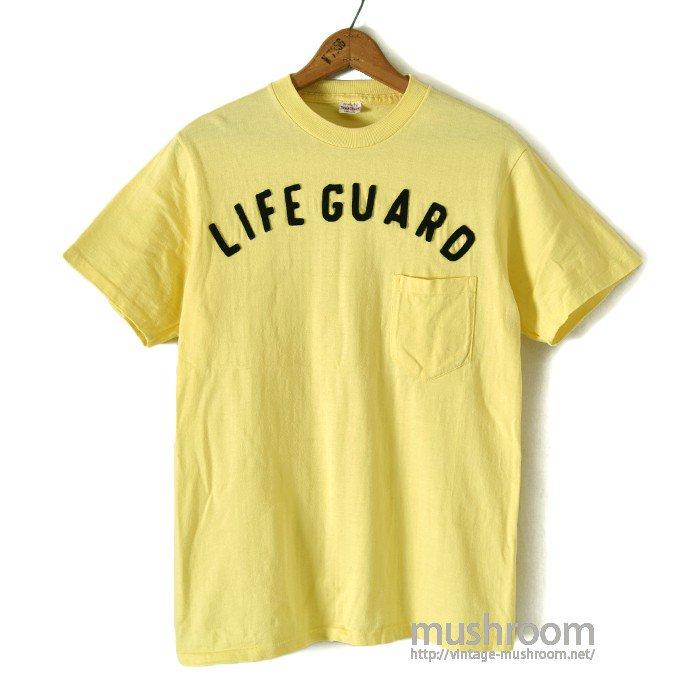 LIFE GUARD POCKET T-SHIRT