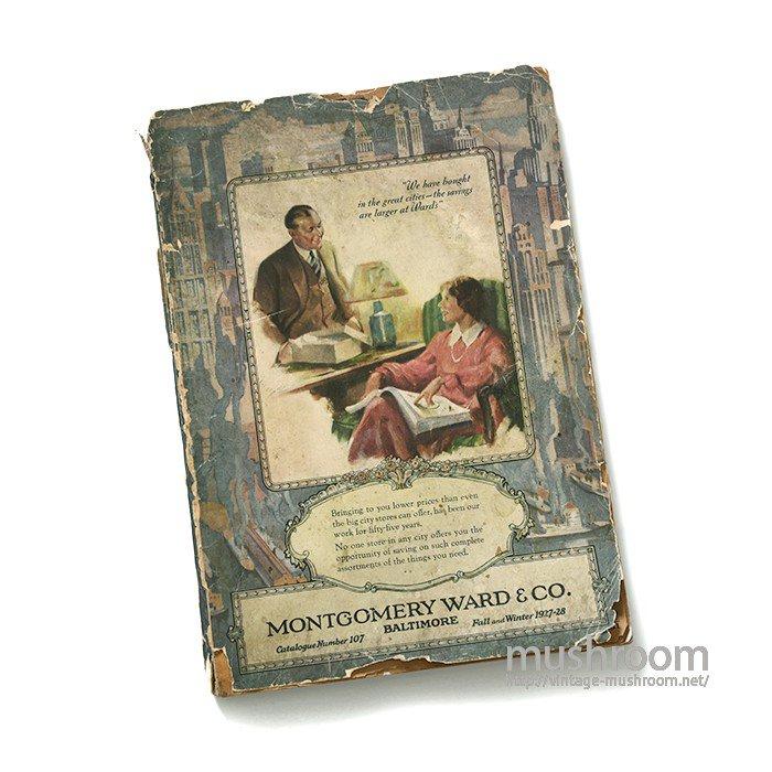 MONTGOMERY WARD FALL&WINTER CATALOG(1927-28)