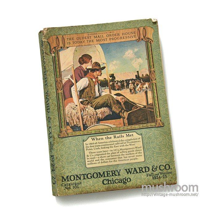 MONTGOMERY WARD FALL&WINTER CATALOG(1924-25)