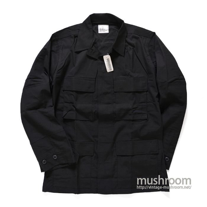 U.S.MILITARY BLACK 357 BDU JACKET( S-R/DEADSTOCK )