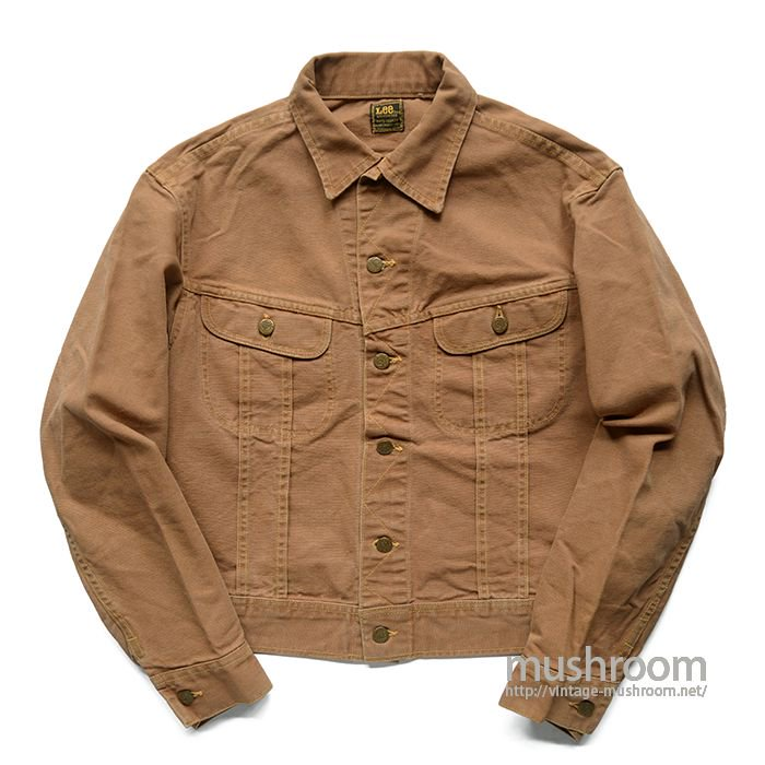 Lee BROWN DUCK JACKET