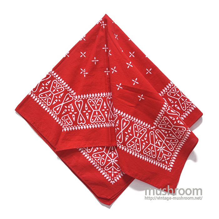 OLD RED CROSS BANDANA( ONE-WASHED )