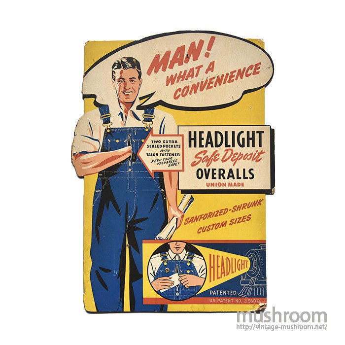 HEAD LIGHT ADVERTISING SIGN BORD