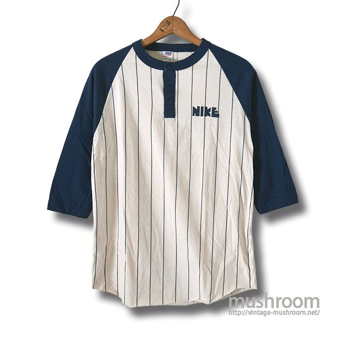 NIKE BASEBALL T-SHIRT( M/MINT )