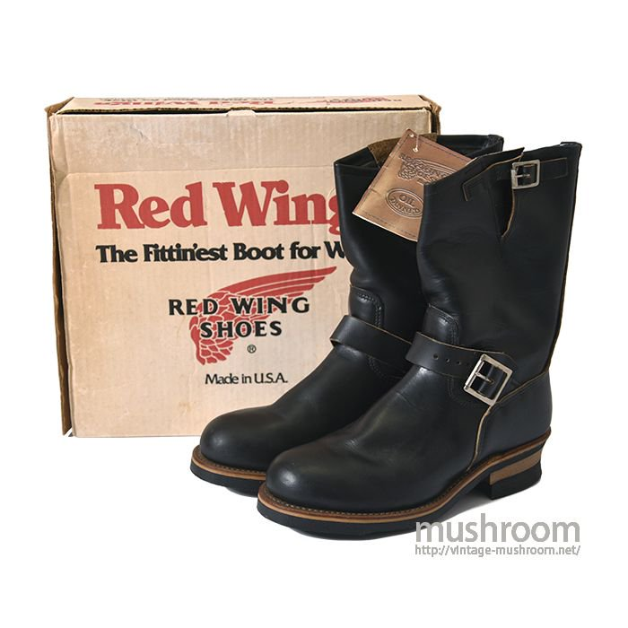RED WING PT83 ENGINEER BOOTS( 8D/ALMOST DEADSTOCK )