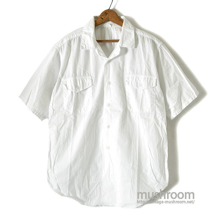 OLD S/S WHITE WORK SHIRT