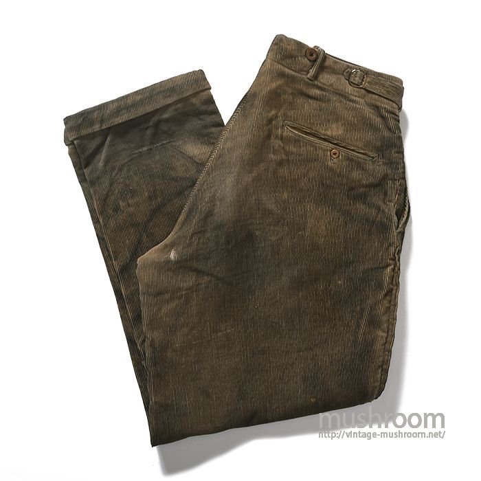 STAG TROUSERS CORDUROY WORK PANTS