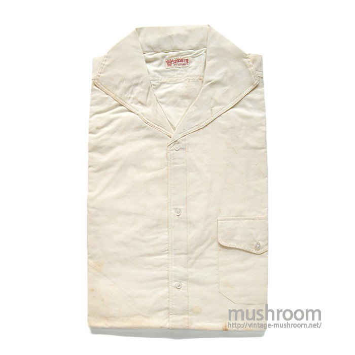 SOIESETTE  S/S COTTON SHIRT(14H/DEADSTOCK)