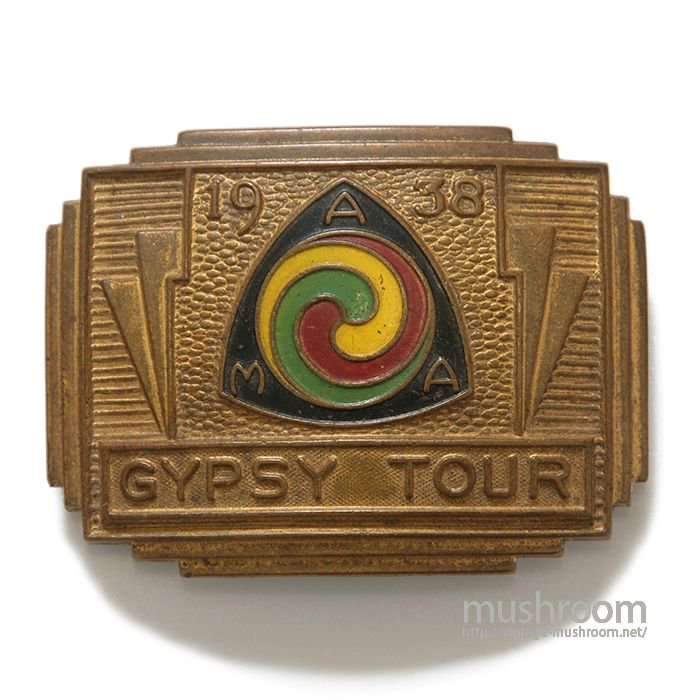 1938 AMA GYPSY TOUR BUCKLE