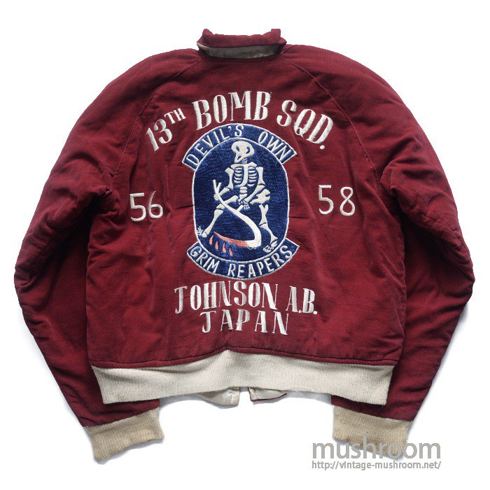 JAPAN SOUVENIR JACKET(THE 13TH BOMB SQD)
