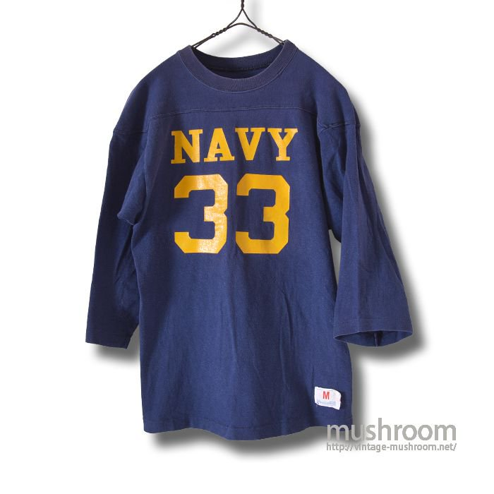 CHAMPION NAVY FOOTBALL T-SHIRT