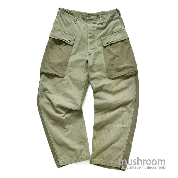 WW2 USMC M-44 TWO-TONE HBT TROUSERS