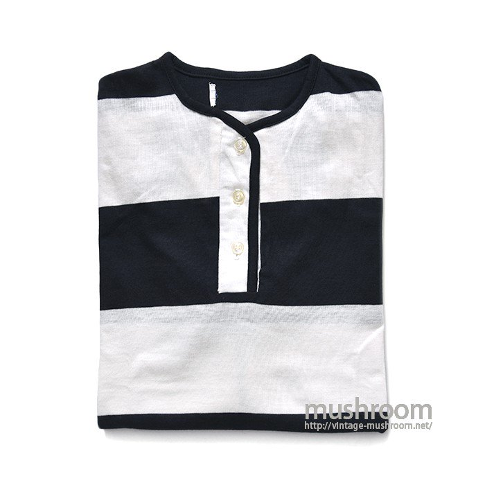 OLD WIDE BORDER STRIPE NENRY-NECK TEE