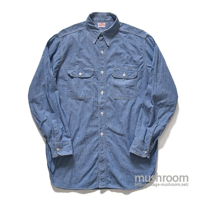 KING KOLE CHAMBRAY WORK SHIRT