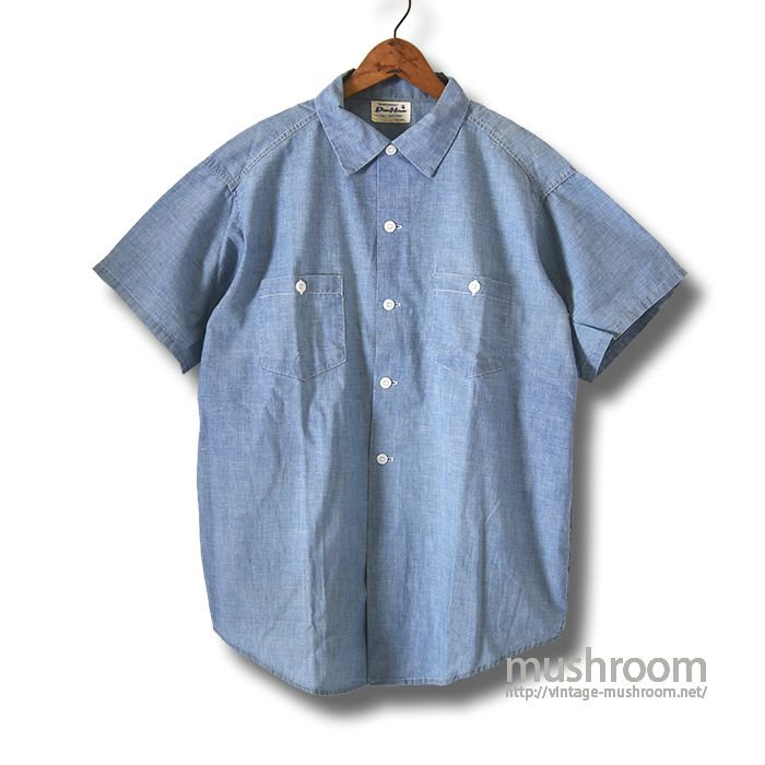 POWRHOUSE S/S CHAMBRAY SHIRT