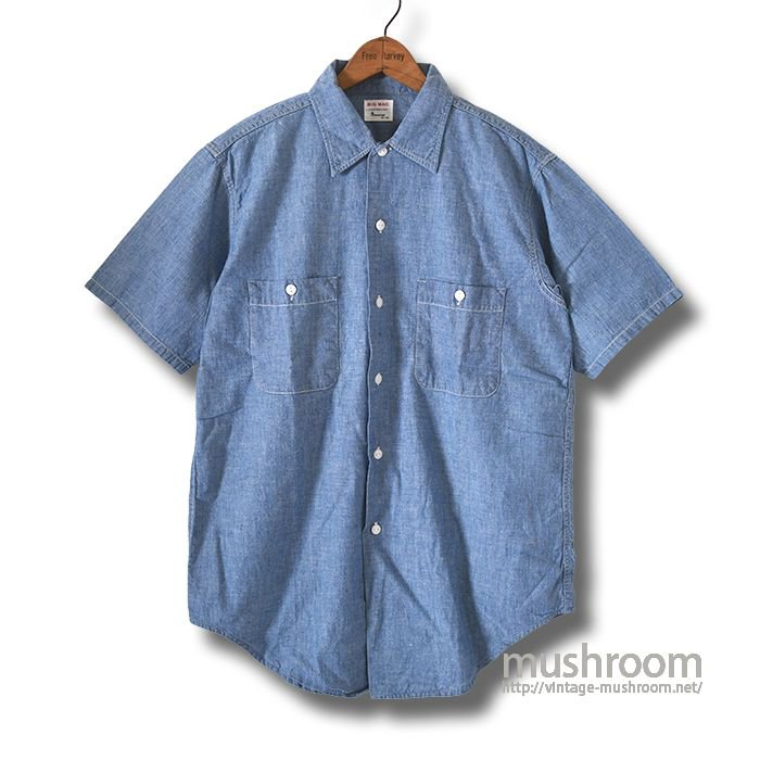 BIG MAC S/S CHAMBRAY SHIRT