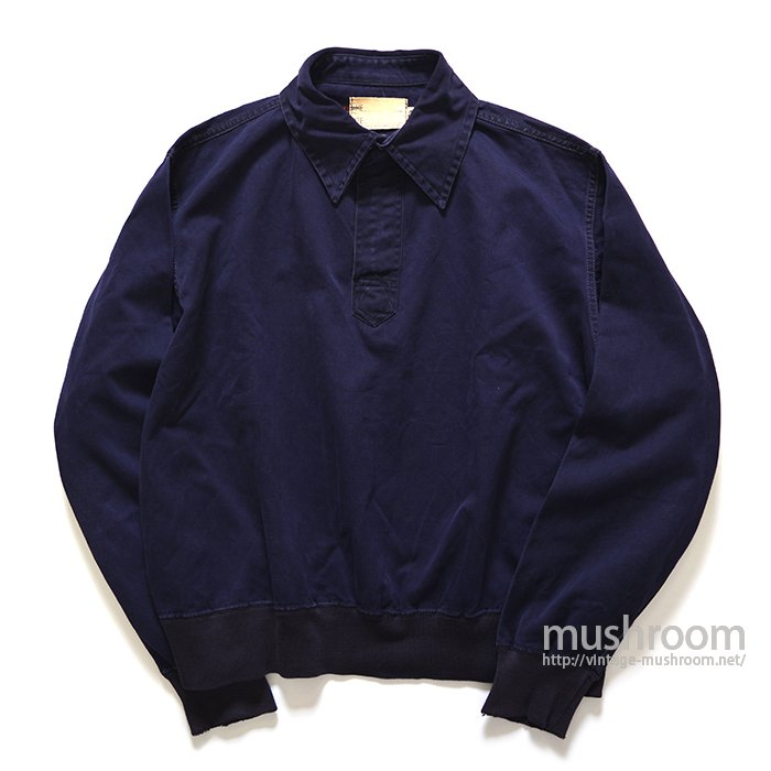 U.S.NAVY PULLOVER COTTON SHIRT( MADE BY WILSON )