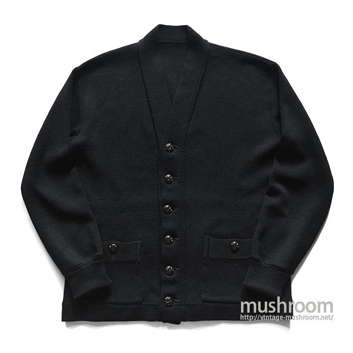 UNKNOWN BLACK WOOL CARDIGAN( MINT )
