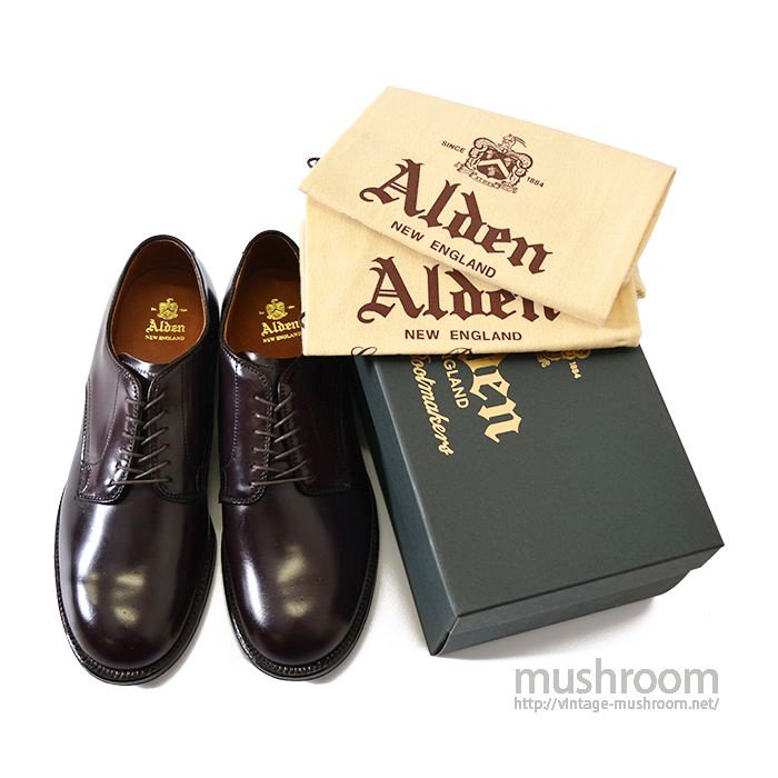 ALDEN 5366 PLAIN TOE OXFORDS
