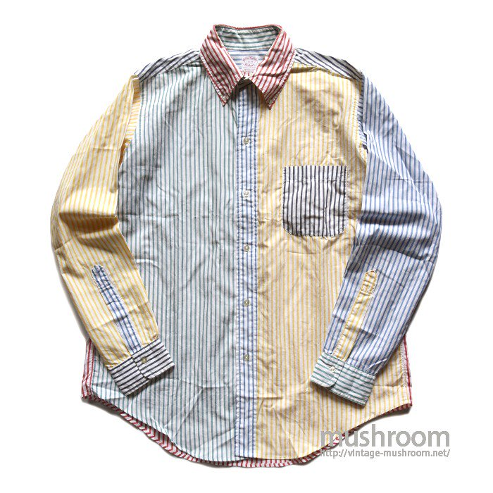 BROOKS BROS CRAZY STRIPE BD SHIRT