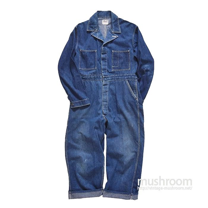 WW2 SMITH'S COVERALLS DENIM ALL IN ONE
