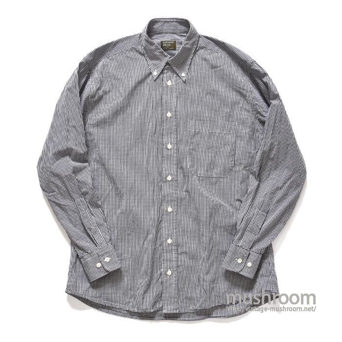 GITMAN BROS PLAID BD SHIRT(M/MINT)