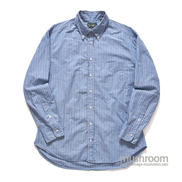 GITMAN BROS PLAID BD SHIRT(L/MINT)