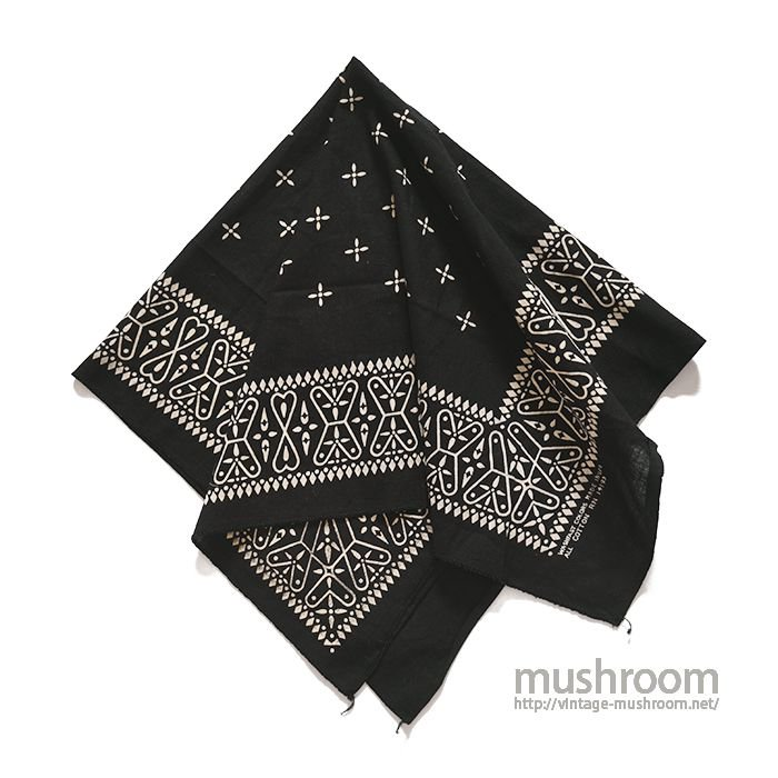 OLD BLACK CROSS BANDANA( DEADSTOCK )