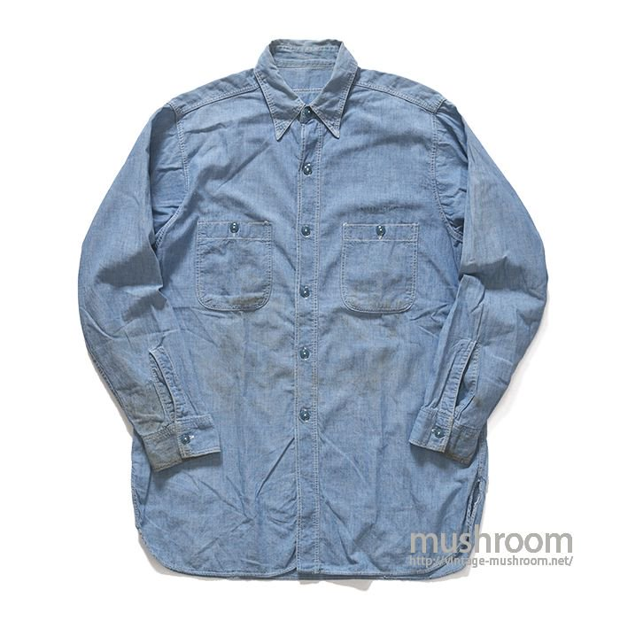 U.S.NAVY CHAMBRAY SHIRT