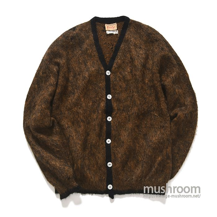 SARBY MOHAIR WOOL CARDIGAN