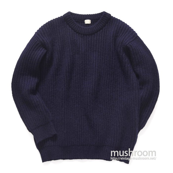 ABERCROMBIE&FITCH OILED WOOL SWEATER( MINT )
