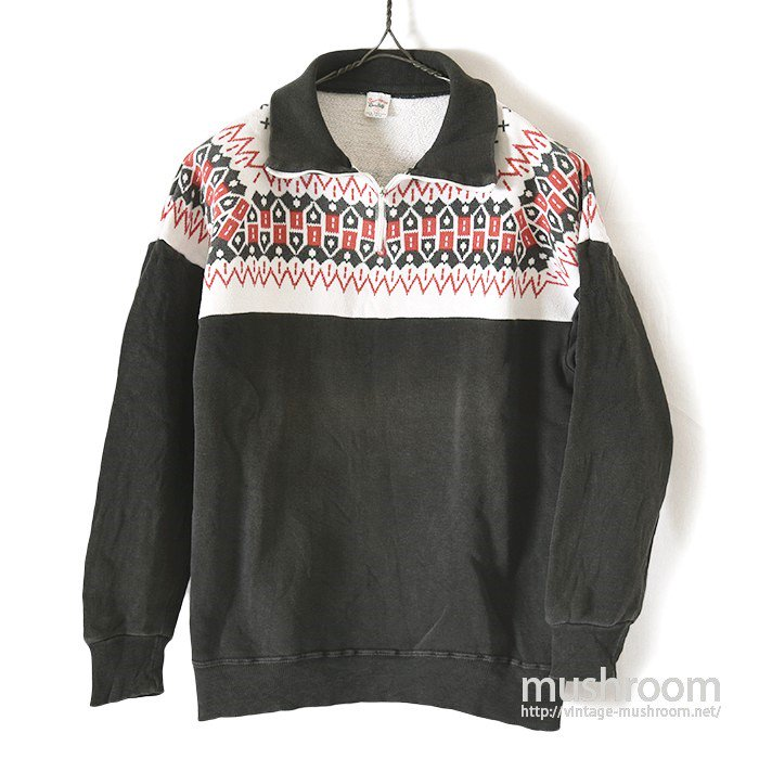 SPORTSWEAR SNOW PATTERN SWEAT SHIRT