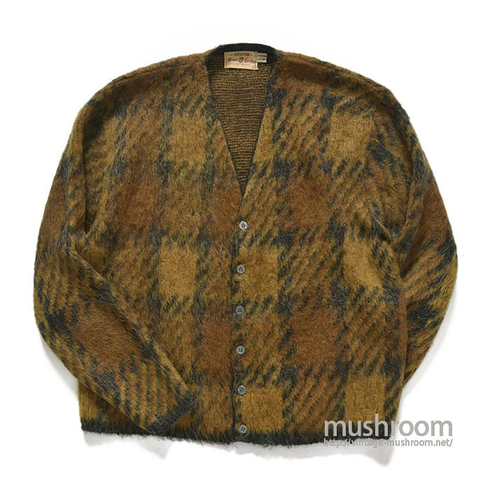ARROW MOHAIR WOOL CARDIGAN( XL/MAYBE..DEADSTOCK )