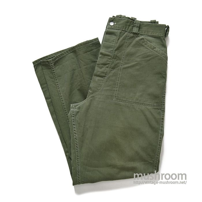 BLUE TOP HBT WORK TROUSERS