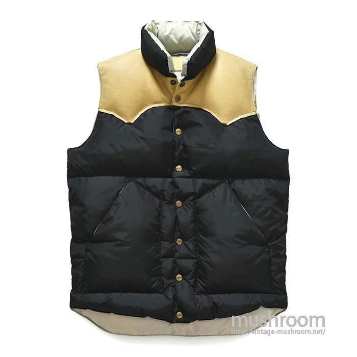 H BAR C BLACK DOWN VEST(S/MINT)