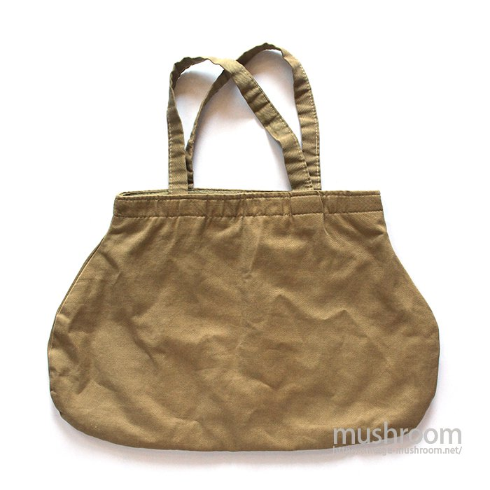 UNKNOWN MILITARY FABRIC TOTE BAG