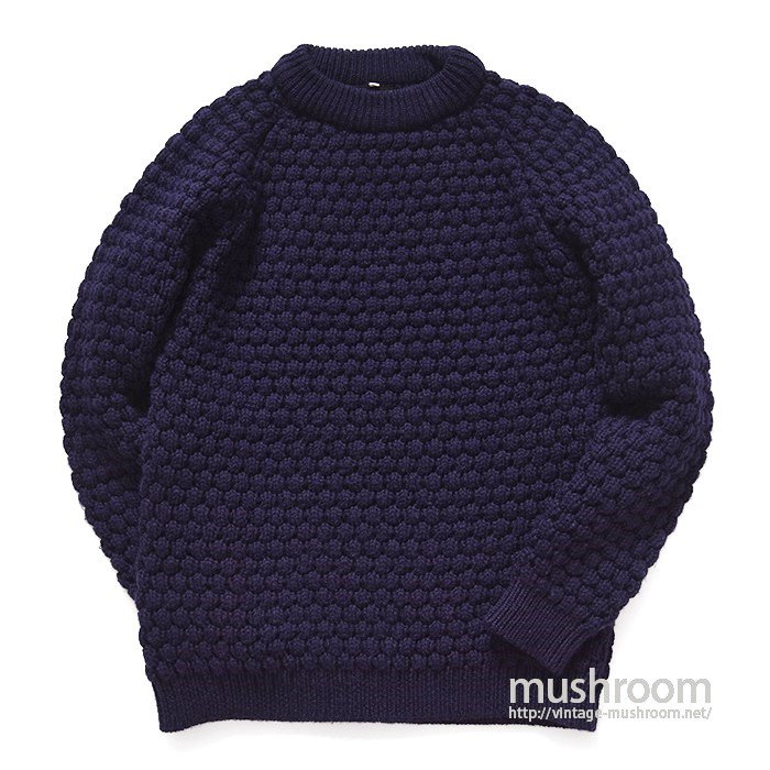 PETER STORM OILED WOOL SWEATER