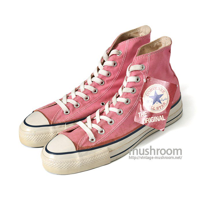 CONVERSE ALL-STAR HI CANVAS SHOES( 9H/DEADSTOCK )