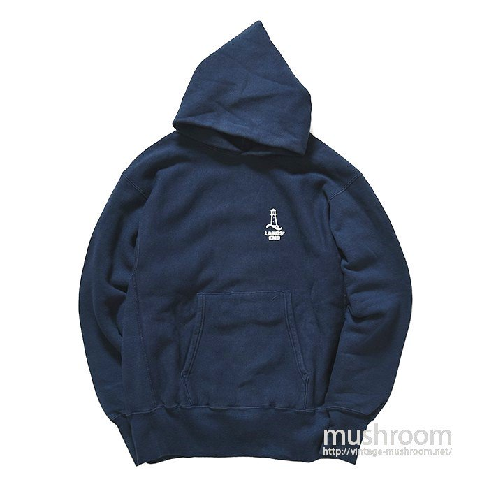LAND'S END REVERSE WEAVE HOODY(ONE-COLOR TAG)