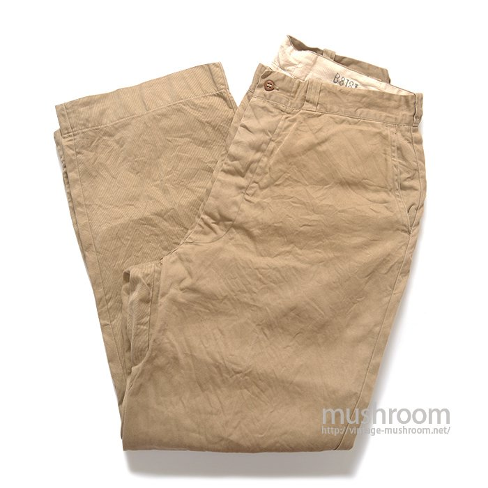 U.S.ARMY 52KHAKI CHINO TROUSER( MINT )