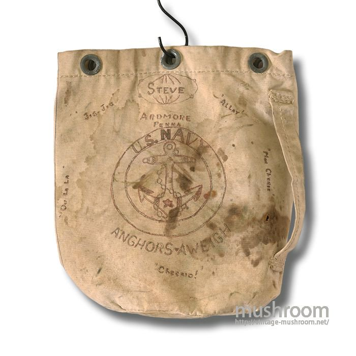 U.S.MILITARY CANVAS BARRACKS BAG