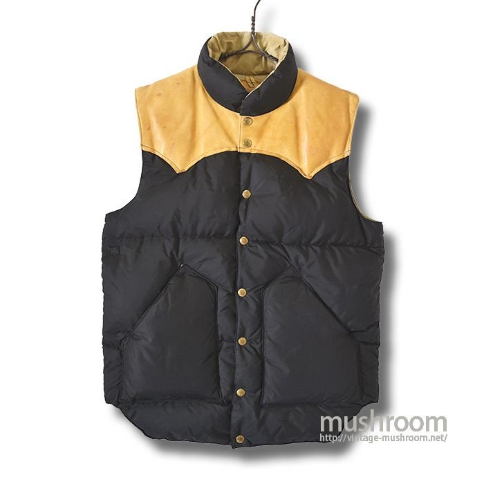 ROCKY MOUNTAIN DOWN VEST(40/BLACK)