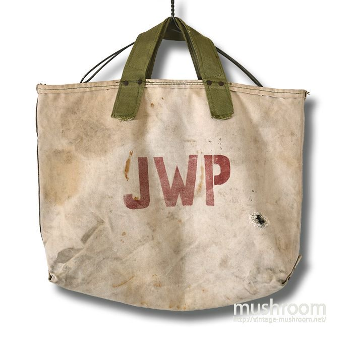JWP TWO-TONE CANVAS COAL BAG