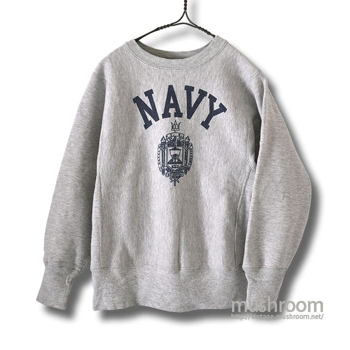CHAMPION NAVY REVERSE WEAVE(XS/MINT)